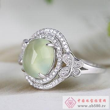 中国黄金·珍尚银S925银葡萄石戒指
