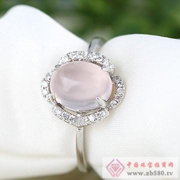 中国黄金·珍尚银S925银水晶戒指01