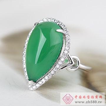 中国黄金·珍尚银S925银玉髓戒指