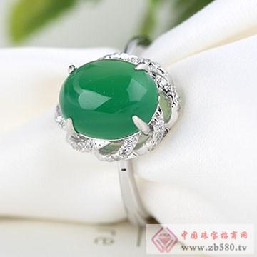 中国黄金·珍尚银S925银玉髓戒指03