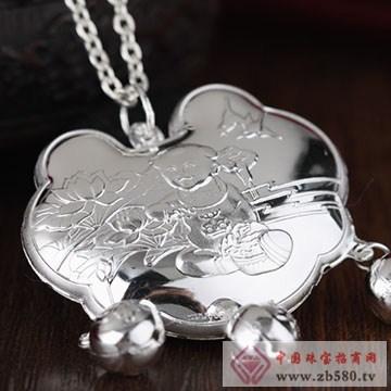 中国黄金·珍尚银S990银锁包07
