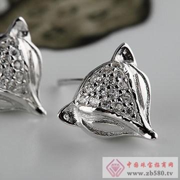 中国黄金·珍尚银S925纯银耳饰01