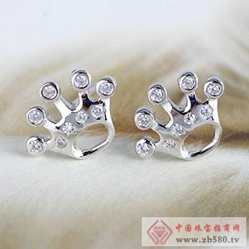 中国黄金·珍尚银S925纯银耳饰02