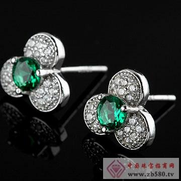 中国黄金·珍尚银S925纯银耳饰04