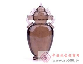 天然茶水晶壶平安瓶摆件天然茶水晶