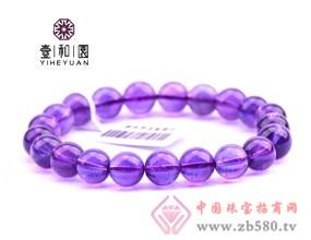 壹和园-精选天然紫水晶手链女款