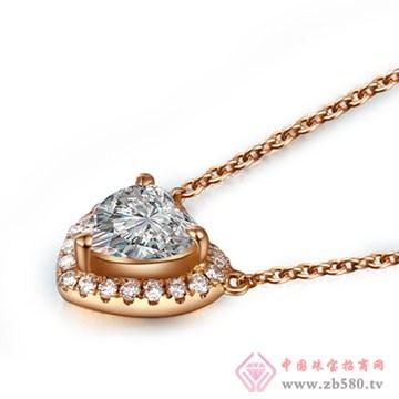 恩卓拉-钻石吊坠01