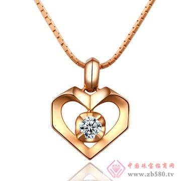 恩卓拉-钻石吊坠05