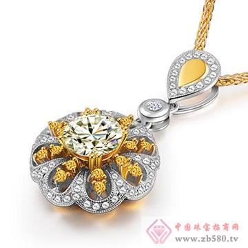 恩卓拉-钻石吊坠09