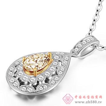 恩卓拉-钻石吊坠10