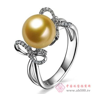至纯珠宝-南洋金珍珠戒指
