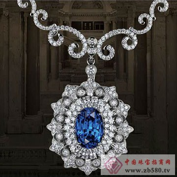 金格丽-蓝宝石吊坠