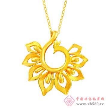 中国黄金·珍如金-黄金吊坠01