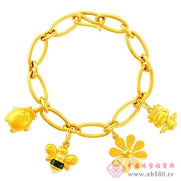 中国黄金·珍如金-黄金手链02