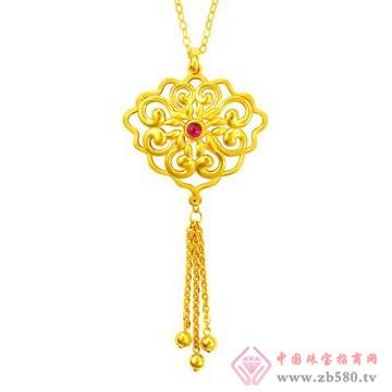 中国黄金·珍如金-黄金套装02项链