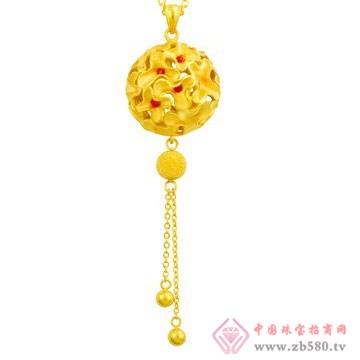 中国黄金·珍如金-黄金套装03项链