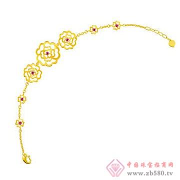 中国黄金·珍如金-黄金套装04手链