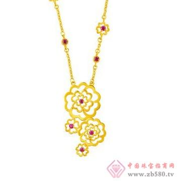 中国黄金·珍如金-黄金套装04项链