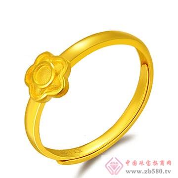 中国黄金·珍如金-幸福花朵千足金