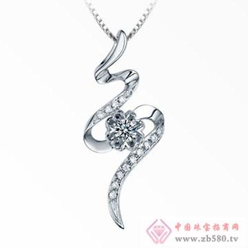 欧宝丽-钻石吊坠05