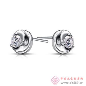 欧宝丽-钻石耳钉02