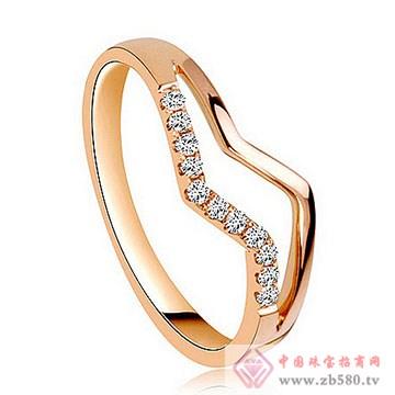 美地亚-K金钻石戒指01