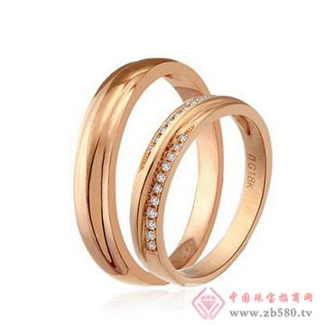 美地亚-K金钻石戒指06