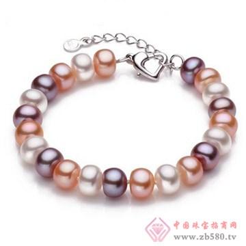 混彩珍珠手链