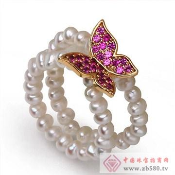 然淡水珍珠戒指