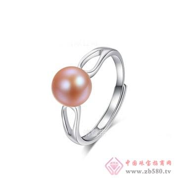天然淡水真珍珠戒指