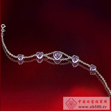 简爱——白18K金紫晶手链
