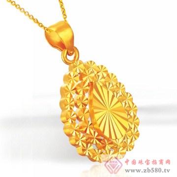 周萊福-黄金吊坠01