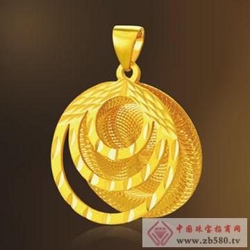 周萊福-黄金吊坠05