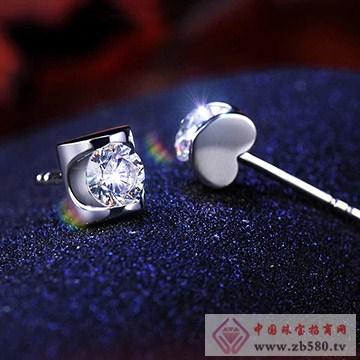 九印钻石钻石耳钉003