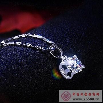 九印钻石钻石项链002
