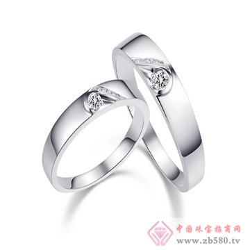 一后钻石遇见爱情侣对戒