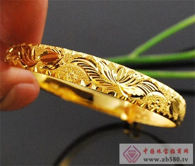 黄金手镯花纹都代表什么含义!