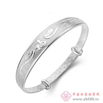 兴达珠宝-纯银手镯