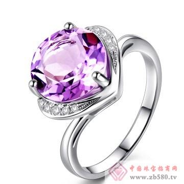 尚蒂妮紫水晶心形戒指