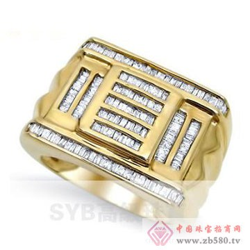 SYB高级珠宝-男士戒指01