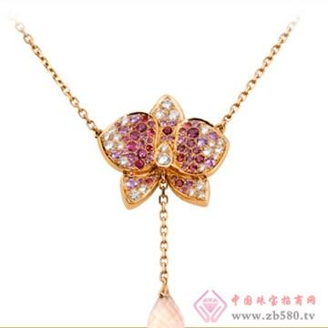 旭日珠宝Y形项链