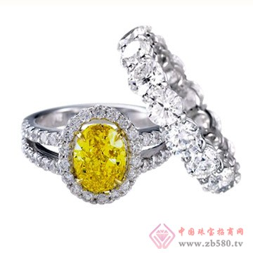 旭日珠宝戒指