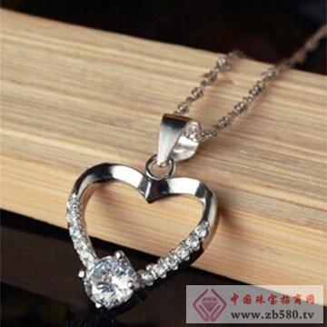 银皇珠宝925银纯银项链