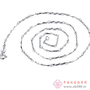银皇珠宝S925旋转瓜子链