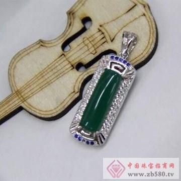 银皇珠宝S990纯银挂坠