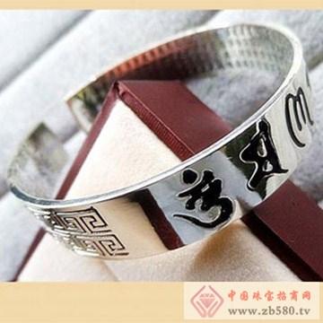 银皇珠宝S990纯银手镯