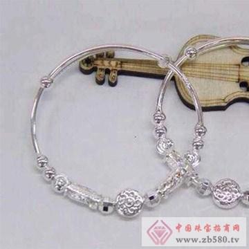 银皇珠宝S990纯银手镯7