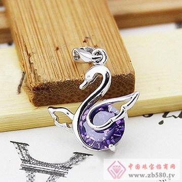 双诚珠宝-纯银吊坠10