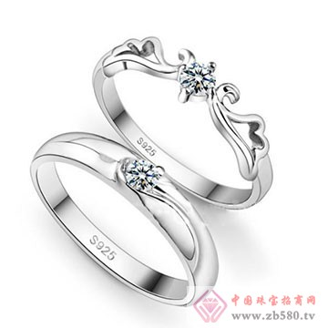 双诚珠宝-纯银对戒04