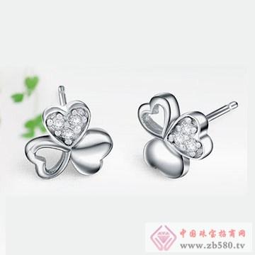 双诚珠宝-纯银耳钉01